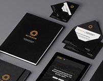 Логотип, ручки, Notebook, конверты, документы.