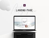 ShowCase · Photographer landing page