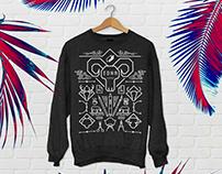 School sweatshirt // EDNA 2016