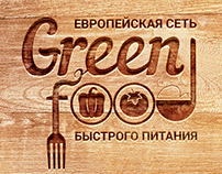 Green food: Fast food cafe
