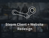Steam Client and Website Redesign