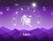 Purple Horoscope Design