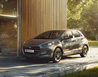 Hyundai i30 - In the woods_India