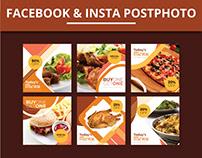Facebook & Insta Post Design