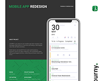 UI/UX Redesign for Data Collection Mobile app