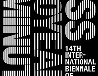14th International Biennale Poster