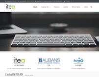 Maquette SiteWeb Itea