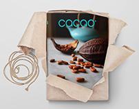Logotipo y Diseño editorial de Cacao