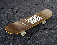 25+ Cool Skateboard Mockup Designs Ready for Photoshop