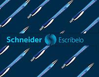 Schneider Escríbelo - Social media