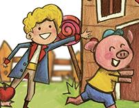 Ilustração - Dia Das Crianças Plaza