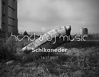Hund & DJ Music Poster