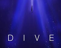 "Flite EP ""Dive"" Fan Poster"