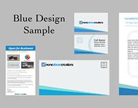 Blue Design Concept - Branding