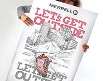 AD Campaign Merrell Portugal F/W 2011
