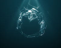Water Logo - After Effects Template