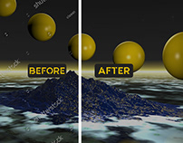 Spot / Watermark Remove Before After