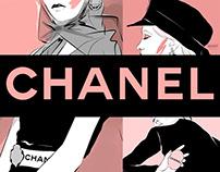 Chanel Illustrations