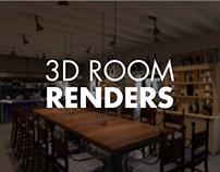 3D Room Renders
