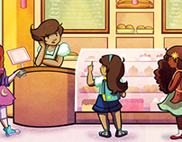 Melissa's Cafe Playset