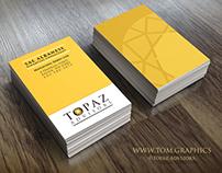 Topaz Advisors Brand Identity