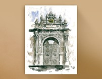Doors Opening to Istanbul / Watercolor Exhibition