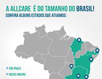 Newsletter - A AllCare é do tamanho do Brasil