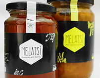 Melatsi - Label for Cretan honey