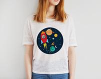 Space Journey.. T-Shirt Design