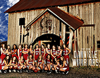 Danville Lady Warriors Basketball Posters 2017-18