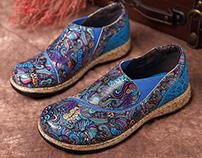 Socofy shoes pattern