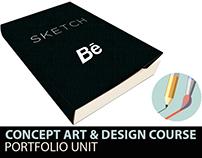 Concept Art & Story Design Portfolio Development