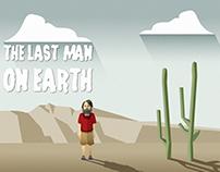 THE LAST MAN ON EARTH MINIMALIST ILLUSTRATION