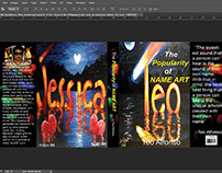 BOOK COVER PROJECT using Photoshop