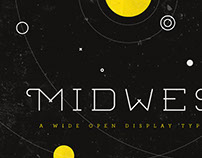 Midwest Display Font