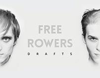 Free Rowers - CD album design