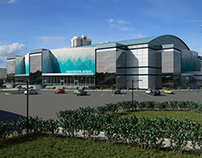 Ice Arena for 7000 spectators. Krasnoyarsk