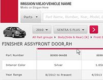 Nissan/Infiniti reStore Redesign