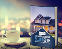 Home Seller Guide Book Cover Design