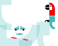 Freies Projekt: Grafische Illustrationen