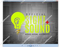 Logo Design - SIGHT + SOUND