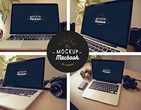 MacBooks Mock-Ups Pack