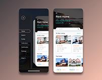 UI/UX rental apartments concept