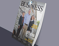 i4 Business Magazine Design