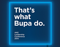 'Bupa' Digital Posters