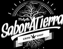 Creación de Marca, Sabor a Tierra GrowShop, Chile.