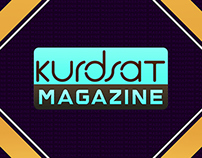 Vizrt Kurdsat Magazine Program Packaging.
