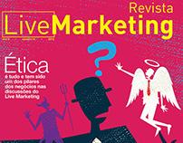 Capa Revista Live Marketing