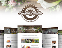 Rustic Hustle Lifestyle Blog - Web & Email Marketing
