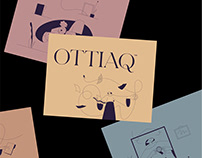 OTTIAQ · Art Direction, Website & Illustration